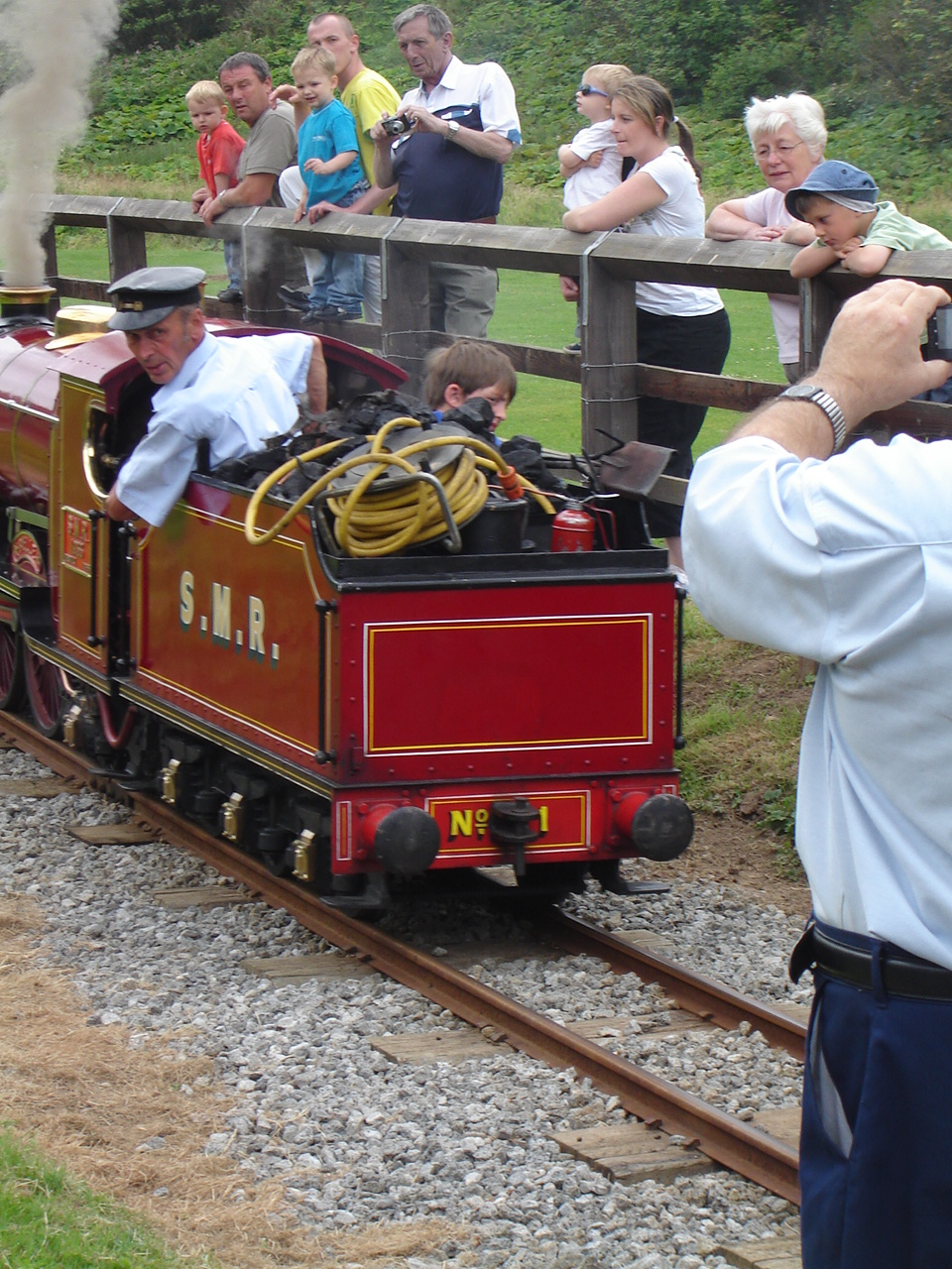 Sutton Belle on loan from Cleethorpes Coast Railway